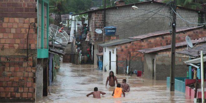 Zona da Mata Sul de Pernambuco, mais uma vez, atingida por enchentes