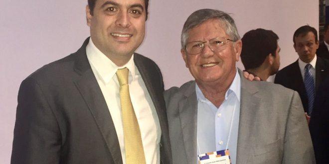 Prefeito Ângelo recebe governador Paulo Câmara nesta quarta (20)