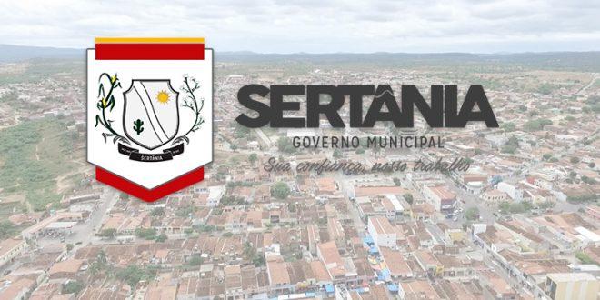 Prefeitura de Sertânia anuncia processo seletivo