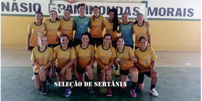 Sertânia conquista título da Taça Pernambuco de Handebol