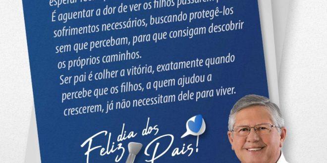 Dia dos Pais – Mensagem do prefeito Ângelo Ferreira