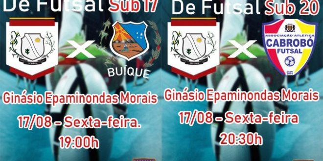 Sertânia recebe rodada do Campeonato Pernambucano de Futsal