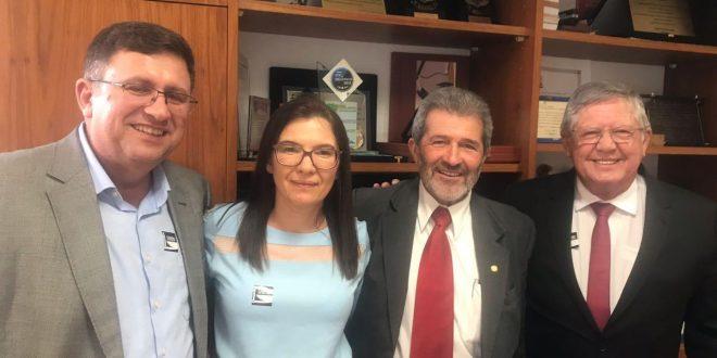 Gonzaga Patriota recebe visita de prefeitos de Sertânia, Itapetim e Brejinho