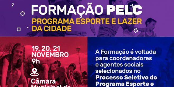 Sertânia recebe formação do Programa Esporte e Lazer da Cidade – PELC