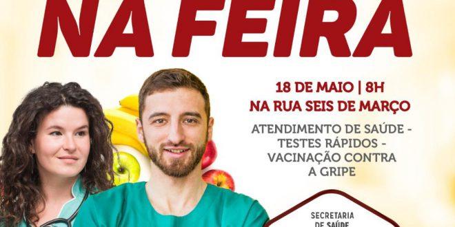 Governo Municipal realiza ação de saúde na feira livre de Sertânia