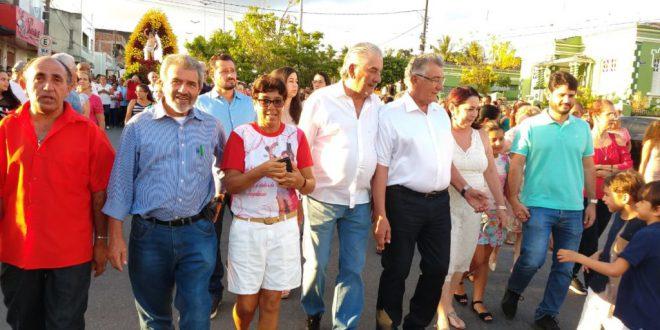 Gonzaga Patriota participa da 204º edição da Festa de São Sebastião em Bonito