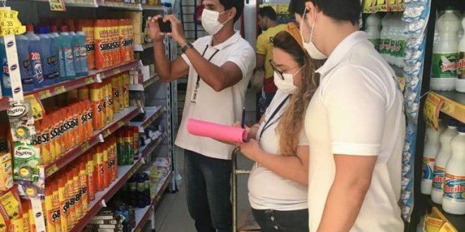 Coronavírus: Procon de Sertânia faz fiscalização para identificar abuso de preços