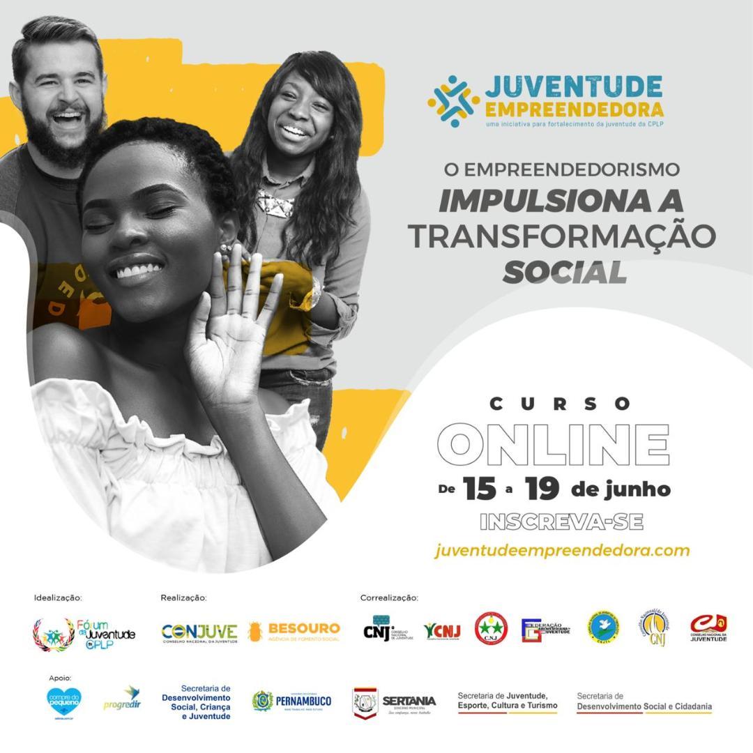 Inscrições para programa 'Juventude Empreendedora Online' são prorrogadas