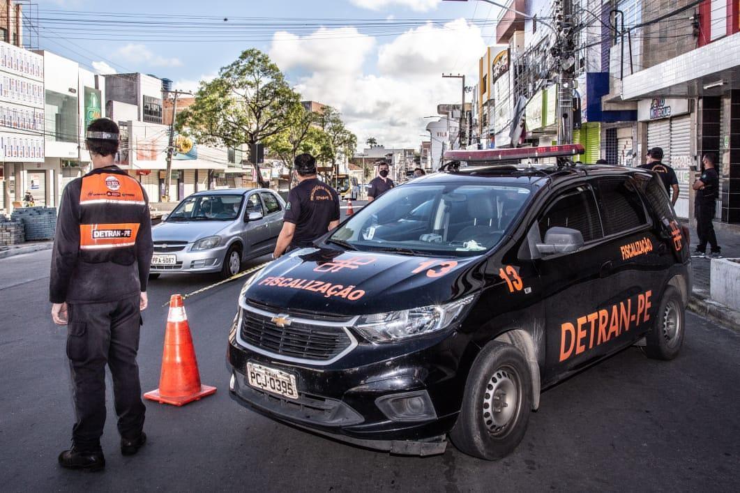 DETRAN-PE participa da Operação Quarentena em Caruaru e Bezerros