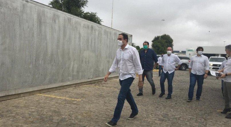 Paulo Câmara entrega novas estruturas para atendimento aos casos da Covid-19 no Sertão
