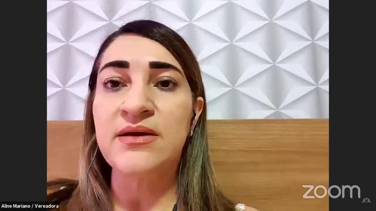 Vereadora Aline Mariano defende comissão para investigar vazamento de dados sobre criança grávida após estupro