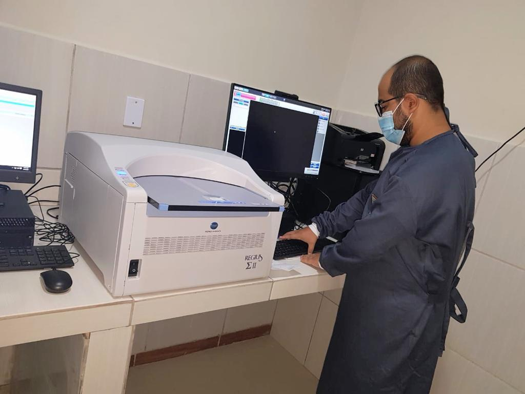 Raio-X do Hospital de Sertânia está em pleno funcionamento