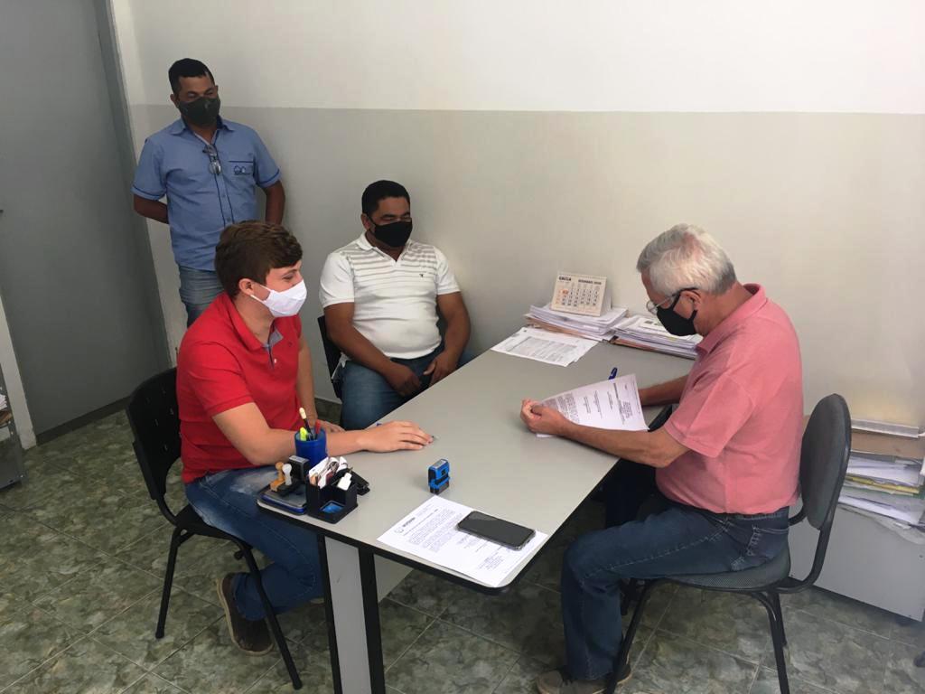 Prefeitura de Sertânia dá Ordem de Serviço para construção da Quadra Poliesportiva da Escola Isaura Xavier dos Santos