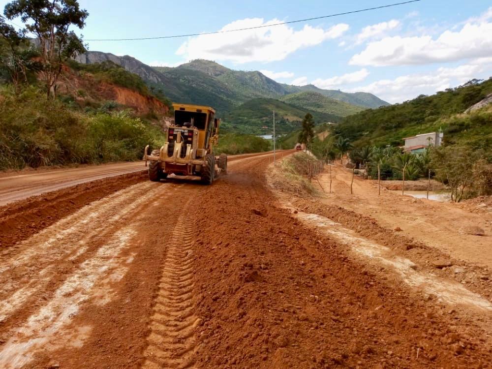 Obras da PE-166 avançam em Belo Jardim e Brejo da Madre de Deus