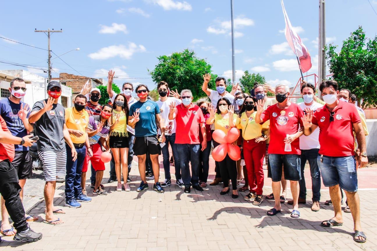 Vereador  Fiapo realiza carreta em Sertânia