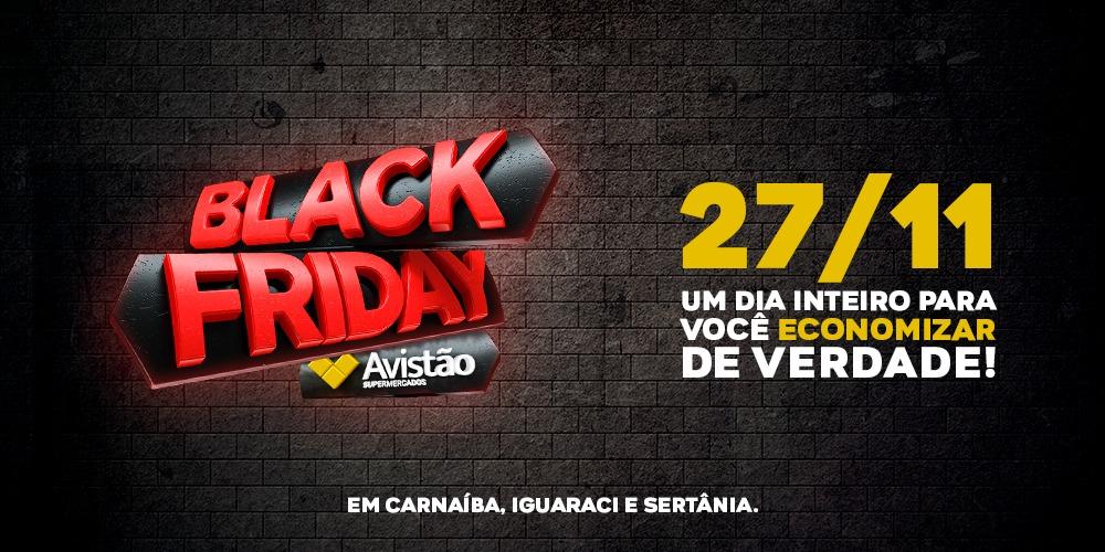 As ofertas de Black Friday estão a todo vapor na Rede Avistão!