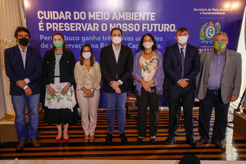 Paulo Câmara cria três novas Unidades de Conservação na bacia do Rio Capibaribe