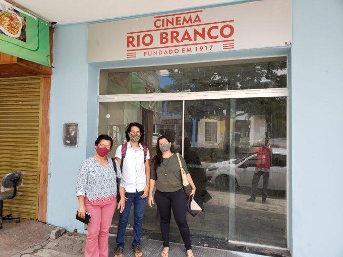 Cinema Rio Branco recebe vistoria da Secretaria de Cultura de Arcoverde