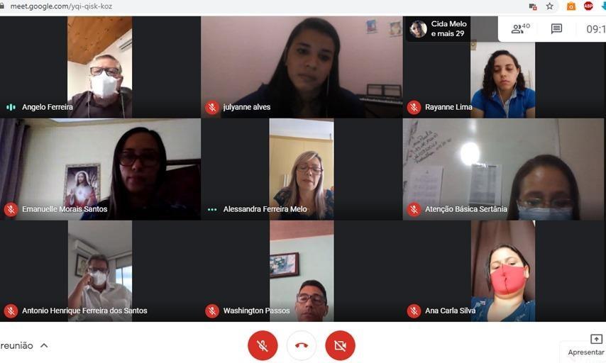 Prefeitura de Sertânia realiza videoconferência dentro da Campanha Abril Azul