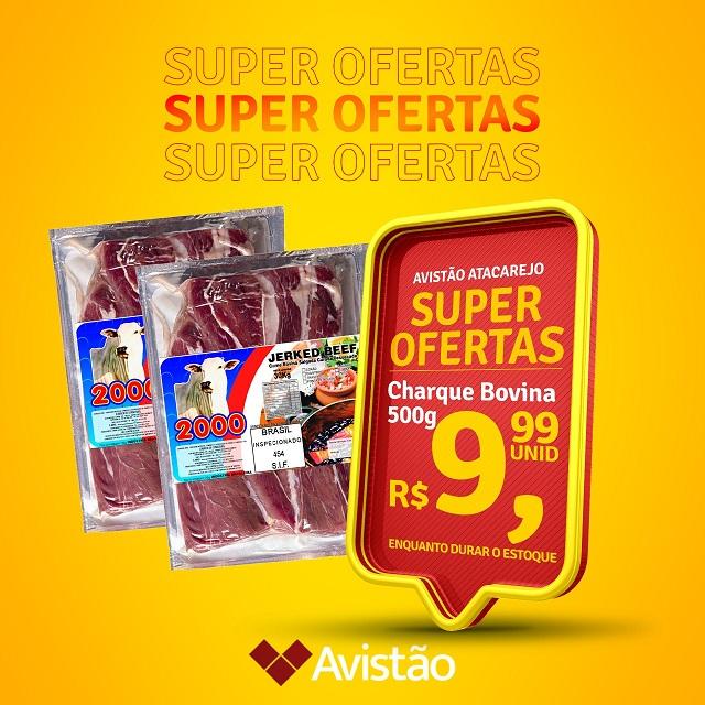 Avistão Atacarejo lança promoção especial de charque