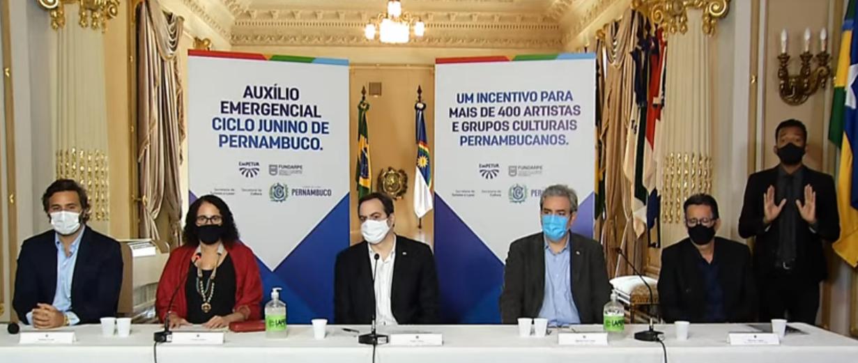 Pernambuco anuncia auxílio emergencial para artistas e grupos culturais do São João
