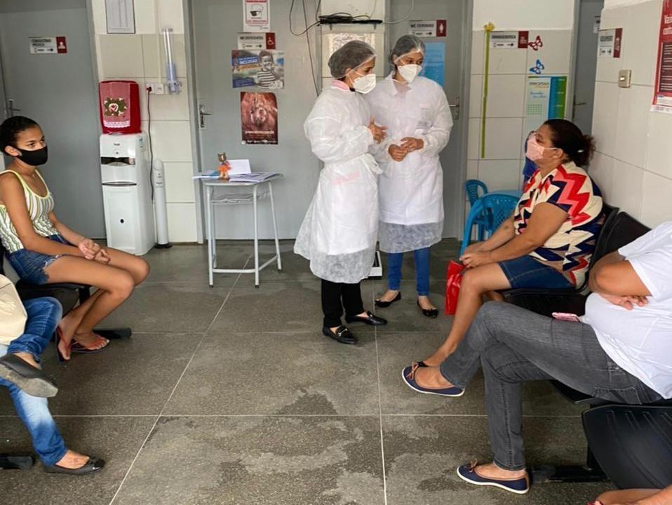 Maio Vermelho: Secretaria de Saúde de Sertânia realiza ação de prevenção ao câncer de boca