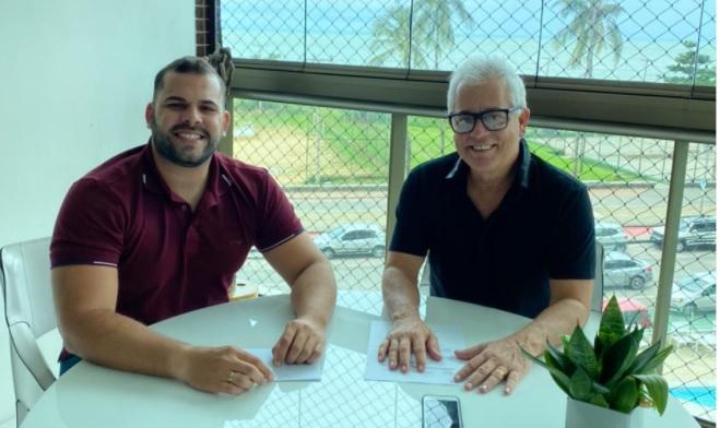 Vereador Niltinho se reúne com representante do PSL