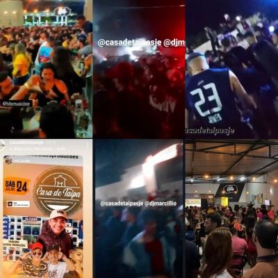 Prefeitura suspende atividades em bares que promoveram aglomeração em São José do Egito