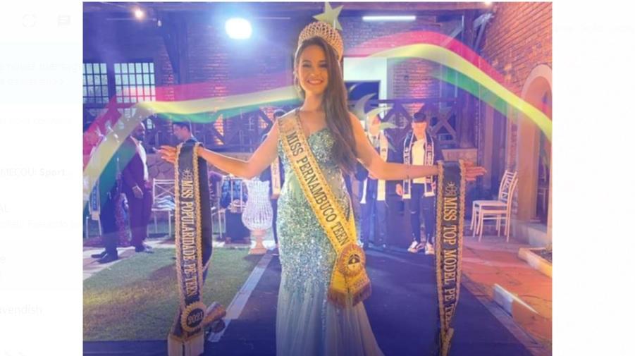 Sertânia se destaca no concurso estadual Miss Pernambuco Teen