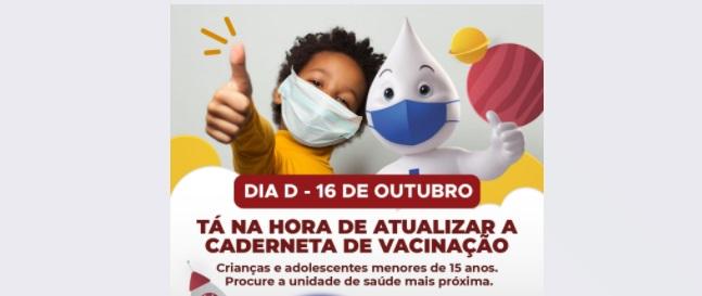 Sertânia realiza dia D de Multivacinação neste sábado (16)