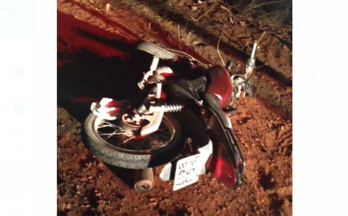 Acidente com moto é registrado na PE-265 em Sertânia